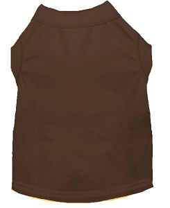 Plain Shirts Brown 4X