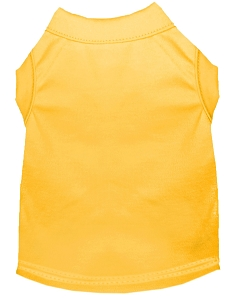 Plain Shirts Yellow 6X