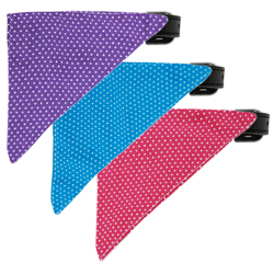 Swiss Dots Bandana Collars