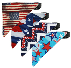 Patriotic Bandana Collars