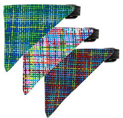 Party Plaid Bandana Collars