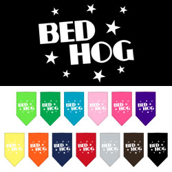 Bed Hog Screen Print Bandana
