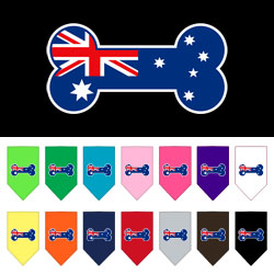 Bone Flag Australian Screen Print Bandana