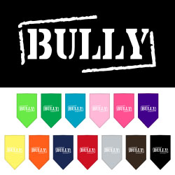 Bully Screen Print Bandana