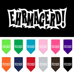 Ehrmagerd Screen Print Bandana