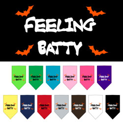 Feeling Batty Screen Print Bandana