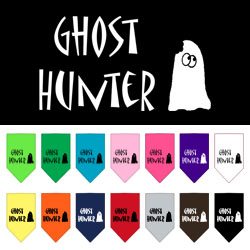 Ghost Hunter Screen Print Bandana