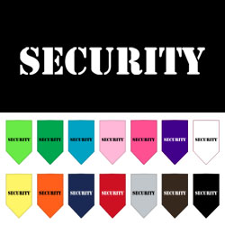 Security Screen Print Bandana