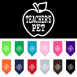 Teachers Pet Screen Print Bandana