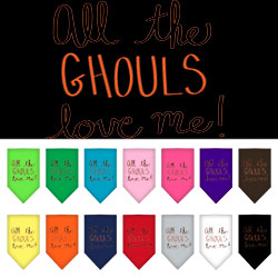 All the Ghouls Screen Print Bandana