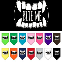 Bite Me Screen Print Bandana