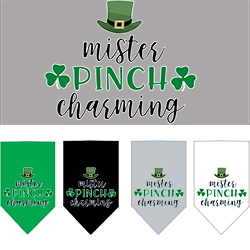 Mister Pinch Charming Screen Print Bandana