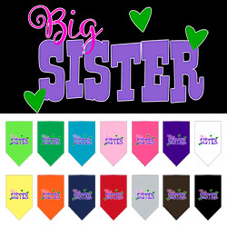 Big Sister Screen Print Bandana