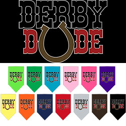 Derby Dude Screen Print Bandana