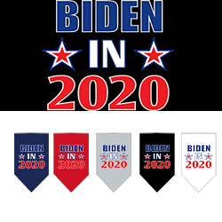 Biden in 2020 Screen Print Bandana