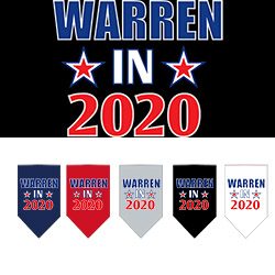Warren in 2020 Screen Print Bandana