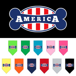 Bonely in America Screen Print Bandana