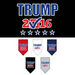 Trump Checkbox Election Screenprint Bandana