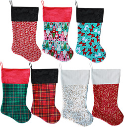 Christmas Patterned Stockings
