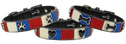 Patriotic Mix Ice Cream Collars