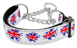 Graffiti Union Jack Martingale Collars