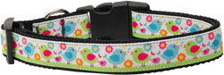 Chirpy Chicks Nylon Ribbon Collars
