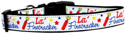 Little Firecracker Dog Collar