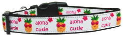 Aloha Cutie Nylon Dog Collar