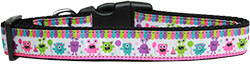 Party Monsters Nylon Dog Collar