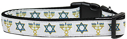 Jewish Traditions Nylon Dog Collar