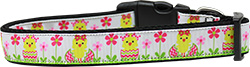 Spring Chicken Nylon Dog Collar