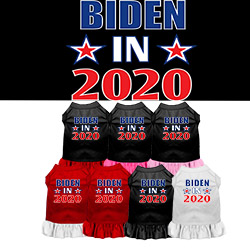 Biden in 2020 Screen Print Dog Dress