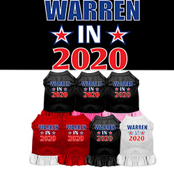 Warren in 2020 Screen Print Dog Dress