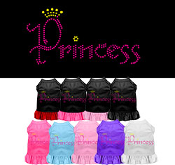 Princess Rhinestone Dress