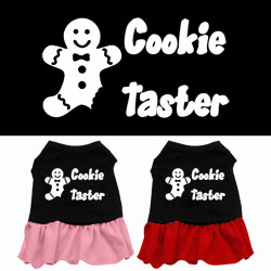 Cookie Taster Screen Print Dress