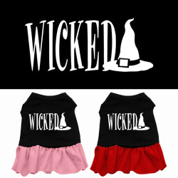 Wicked Screen Print Dress