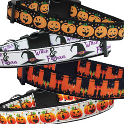 Halloween Nylon Collars