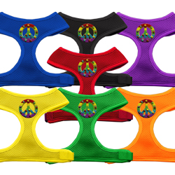 Rainbow Peace Sign Chipper Harness