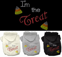 I'm the Treat Rhinestone Hoodies