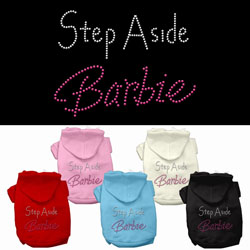 Step Aside Barbie Hoodies