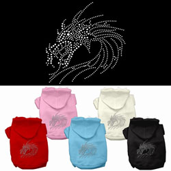Dragon Studded Hoodies