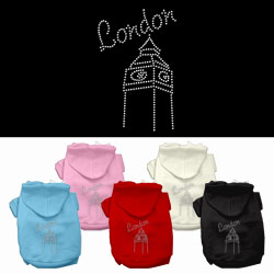 London Rhinestone Hoodies