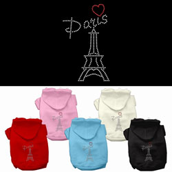 Paris Rhinestone Hoodies