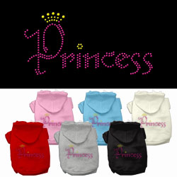 Princess Rhinestone Hoodies