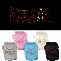 Rock Star Rhinestone Hoodies