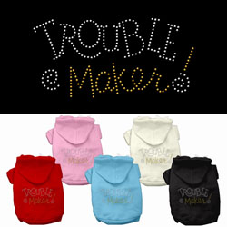 Trouble Maker Rhinestone Hoodies