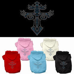 Warrior's Cross Studded Hoodies
