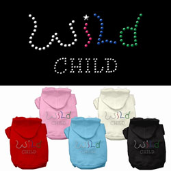 Wild Child Rhinestone Hoodies