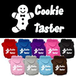 Cookie Taster Screen Print Pet Hoodies