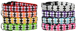 LED Argyle Dog Collars